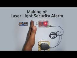 1000 images about electronics projects diy how to make a laser light security alarm