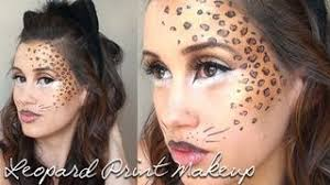 cheetahs and eye makeup leopard print makeup tutorial leopard print makeup transfers