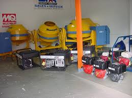 Construction Equipment Showroom
