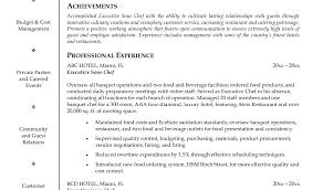 Cook Resume Sample Chef Resume Sample Cook Resume Sample Free