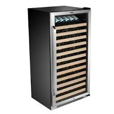 large wine refrigerator. Beautiful Large 100 Bottle Single Zone BuiltIn Wine Cooler To Large Refrigerator N