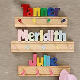 Name Coat Rack Personalized Wooden Name Coat Rack Customer Reviews 6