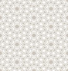 Arabic Pattern Tangled Modern Pattern Based On Traditional Oriental Arabic