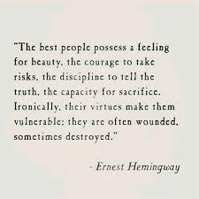 Hemingway Quotes On Love Stunning Hemingway Quotes On Love Magnificent Hemingway Quotes On Love 48
