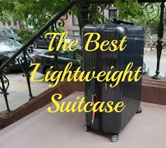 Best Light Luggage Suitcases Luggage Review Rimowa My Favorite Lightweight Suitcase