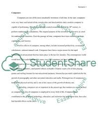 Essay About Invention Invention Of Computer Essay Example Topics And Well