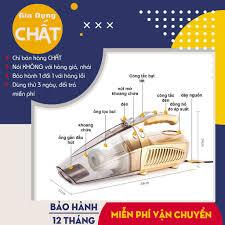 Máy hút bụi cầm tay oto, xe hơi kiêm bơm lốp xe đa năng Agiadep (Bán chạy)  tại Hà Nội