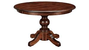 48 round table top drive wood dining in brown
