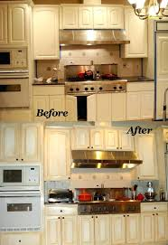 painting formica cabinets before and after pictures