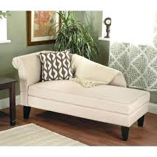 Chaise Lounge Bench Futon Bed Beige Upholstered Storage  Sofa Couch Seat With D48