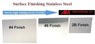 Stainless Steel Surface Finish Chart Stainless Steel Mill Finish Neisan Co