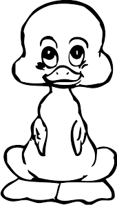 Small Picture Coloring Pages Baby Daffy Duck Coloring Pages Printable Coloring