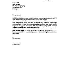 Contoh surat pengunduran diri kerja karyawan contoh surat pengunduran diri doc surat pengunduran diri kerja atau resign letter adalah surat pernyataan bahwa seseorang. Microsoft Word Surat Pengunduran Diri 134wegpjyz47