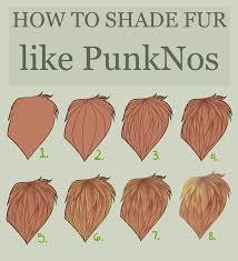 velsinte 455 14 fur shading tutorial by punknitrous
