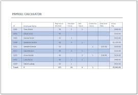 Salary Calculator Net Salary Calculator Template MS Excel Excel Templates 62