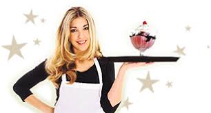 Ice Cream Server Janines Frostee Fresh Food And Icecream Located In Ware