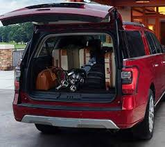 2018 ford expedition max.  max the rear cargo area of the all new 2018 ford expedition loaded with luggage  and gear to ford expedition max o