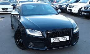 black audi 2010. 2010 audi a5 s5 fsi quattro 42 v8 coupe phanthom black fitted with new 20 inch wheels and a grill pa