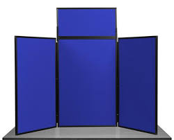 3 Panel Display Stand Best 32 Panel Maxi Desk Top Display Stand Pitts Presentation