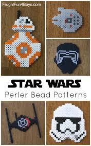 Bead Patterns Gorgeous Star Wars The Force Awakens Perler Bead Patterns Frugal Fun For