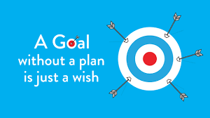 Image result for a goal is just a wish without a plan