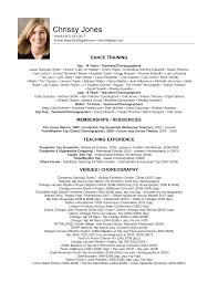 Sample Dance Resume For Audition - Gallery Creawizard.com