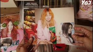 August 1, 2014 debut song: Unboxing Red Velvet Smile Box Youtube