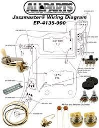 fender jaguar jazzmaster wiring diagram fenderjaguar jazzmaster wiring kit allparts com