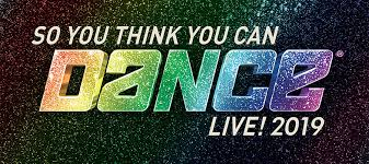Tickets So You Think You Can Dance Live 2019 H Ric