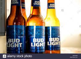 Green Bud Light Bottles Marinette Wi U S A Aug16 2019 Cold Bottles Of Bud