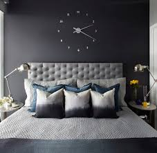 Exceptional Oversized Wall Clocks Bedroom Transitional With Dark Colors Floating Clock  Floating Clock