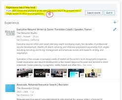 Linkedin S Experience Section Has A New Look Multiple Job Titles At