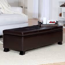 Bedroom Bench Storage Upholstered Bedroom Storage Bench Home Decor