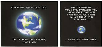 "Pale Blue Dot Quote Delectable Carl Sagan's ""Pale Blue Dot"" Amazing Art Based On Sagan's Essay"