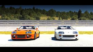 toyota supra fast and furious 2. Beautiful Furious Forza Horizon 2 Fast And Furious  Brians Toyota SUPRA RZ Vs Pauls   Drag Race YouTube Throughout Supra And 2 3