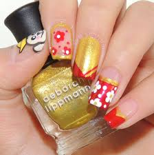 Chinese New Year Nail Art Tutorial - Best Nails 2018