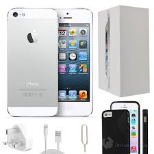 iphone refurbished. apple iphone 5 32gb white unlocked - refurbished grade a + accessories iphone