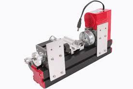 metal motorized mini lathe machine for modelmaking hobby diy