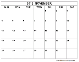 monthly printable calendar vertex monthly printable calendar november 2018 printable calendar
