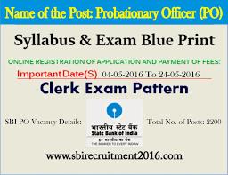 sbi bank po clerk 2016 last date extended apply online sbi sbi bank po clerk 2016 last date extended apply online
