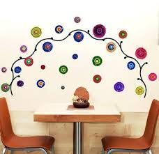 vine wall decor the circle vine wall stickers for living room home decor wall art vineyard