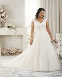 Drop Waist Plus Size Wedding Dress PS182 Wedding Dress Lace And Plus Size Wedding Dress Styles
