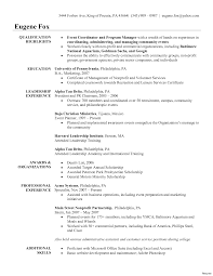 Cover Message For Resume Event Coordinator Resume Cover Letter Samples Tomyumtumweb 89