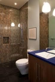 Backsplash for bathroom Mosaic Doorless Shower Designs For Your Bathroom Modern Bathroom Design With Doorless Walk In Shower Also Dark Long Mosaic Tiling Wall Also Modern Shower Head Pinterest 120 Best Bathroom Backsplash Ideas Images In 2019 Backsplash Ideas