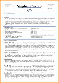 Latest Chartered Accountant Resume Word Format Fre Spectacular
