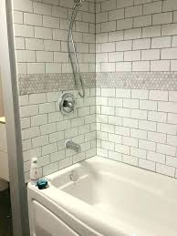bathtub surrounds subway tile tub surround bathroom tubs and white vs faux ti tiled bathtub surround
