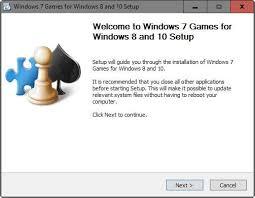Install Windows 7 Games On Windows 10 Ghacks Tech News