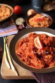 Cara membuat kari ayam merah thailand. Resep Ayam Masak Merah Resep Ayam Resep Masakan Malaysia Resep Makanan