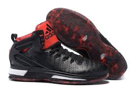 adidas shoes high tops black and red. adidas d rose 6 boost high-top basketball boots black red bulls shoes high tops and y
