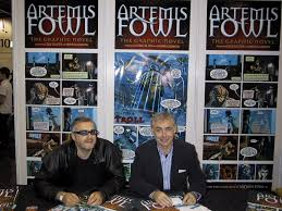 eoincolfer andrewdonkin expo share facebook twitter google now ads by amazon artemis fowl new cover